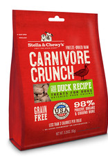 Stella & Chewys Stella & Chewy's Dog Treat Carnivore Crunch Duck 3.25 oz