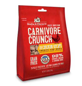 Stella & Chewys Stella & Chewy's Dog Treat Carnivore Crunch Chicken 3.25 oz