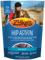 Zuke's Pet Treats Zuke's Dog Treat Hip Action Beef 1 lbs