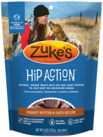 Zuke's Pet Treats Zuke's Dog Treat Hip Action Peanut Butter 1 lbs