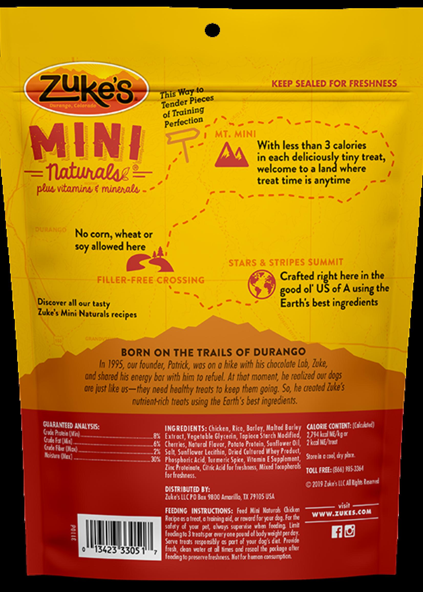 Zuke's Pet Treats Zuke's Dog Treat Mini Naturals Chicken 1 lbs