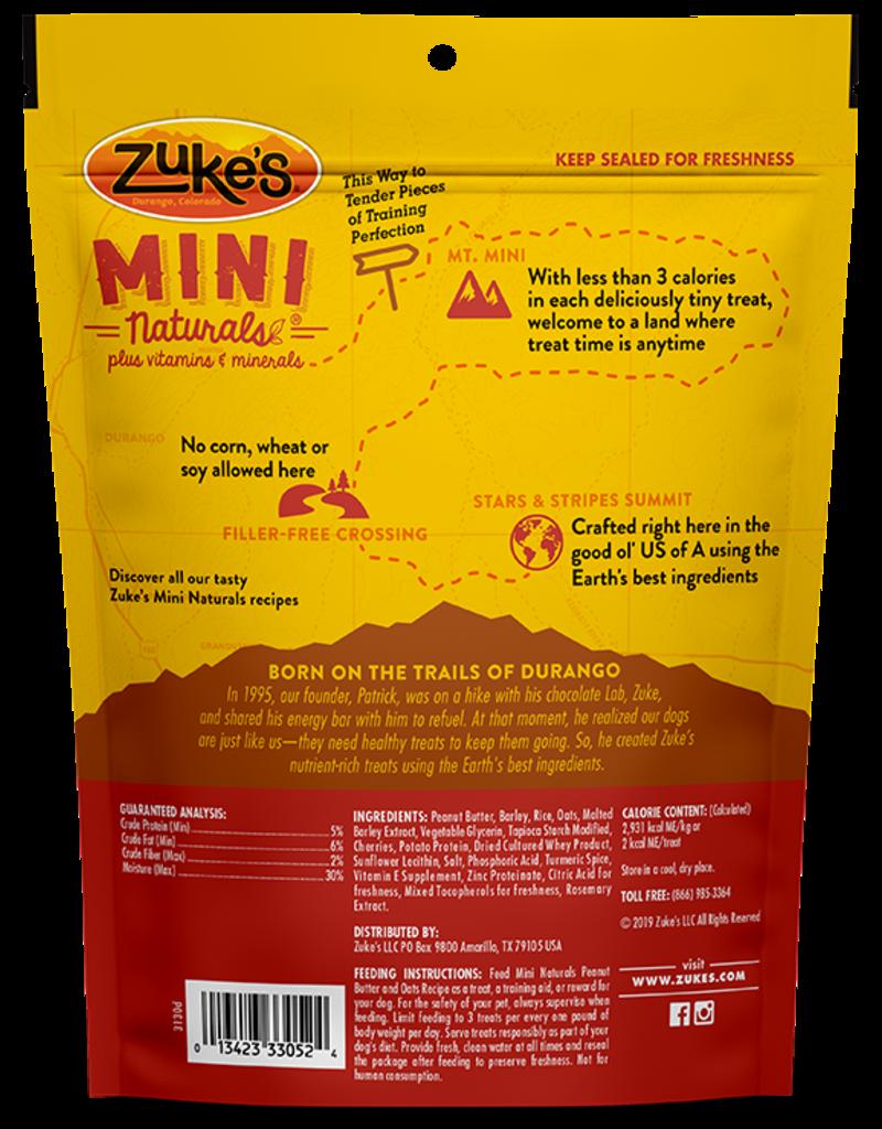 Zuke's Pet Treats Zuke's Dog Treat Mini Naturals Peanut Butter 1 lbs