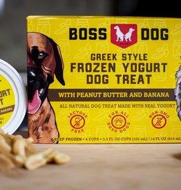 Boss Dog Boss Dog Frozen Yogurt Peanut Butter and Banana Single