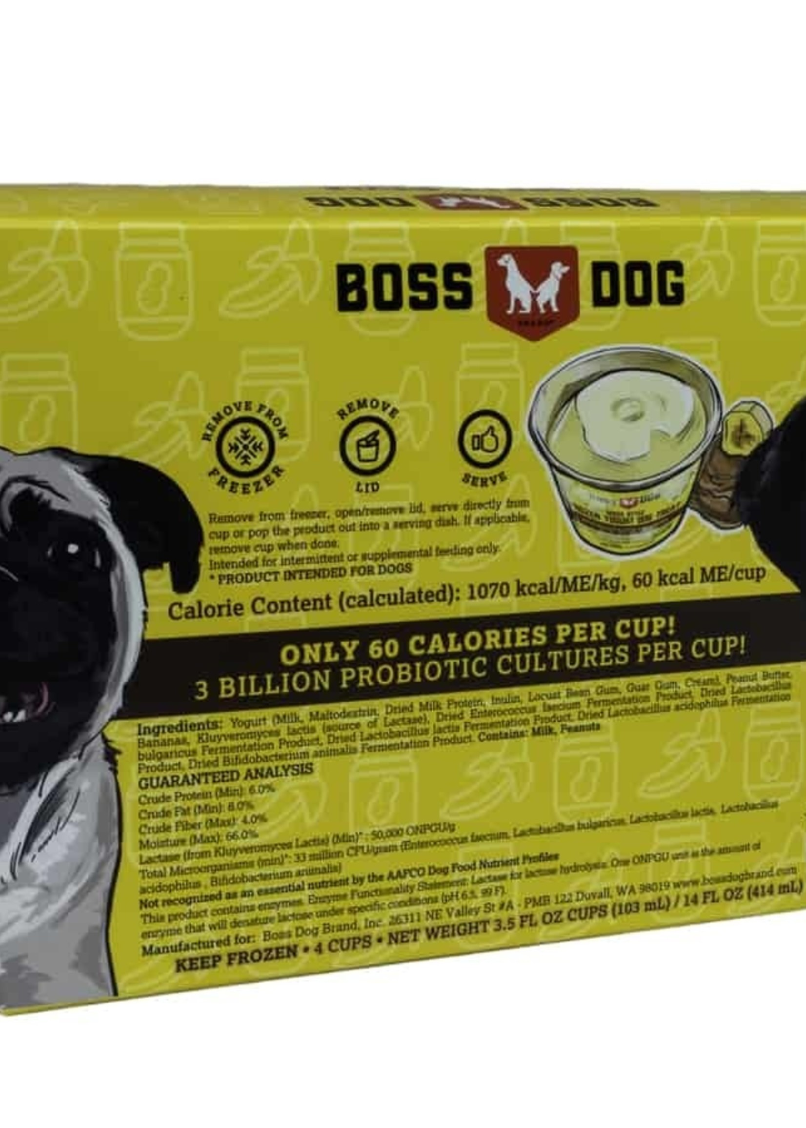 Boss Dog Boss Dog Frozen Yogurt Peanut Butter and Banana