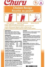 Inaba Foods USA Inaba Cat Treat Churu Puree Chicken 0.5 oz (4 pack)