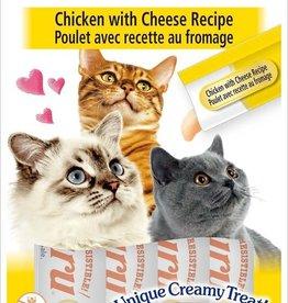 Inaba Foods USA Inaba Cat Treat Churu Puree Chicken and Cheese 0.5 oz (4 pack)