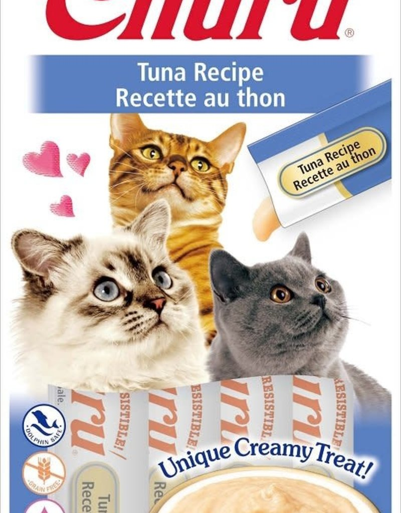 Inaba Foods USA Inaba Cat Treat Churu Puree Tuna 0.5 oz (4 pack)