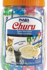 Inaba Foods USA Inaba Cat Treat Churu Puree Tuna Variety 0.5 oz (50 pack)
