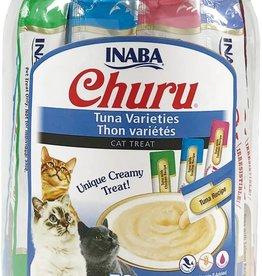 Inaba Foods USA Inaba Cat Treat Churu Puree Tuna Variety 0.5 oz (50 pack)