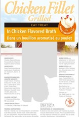 Inaba Foods USA Inaba Cat Treat Grilled Chicken Fillet in Chicken Broth 0.9 oz