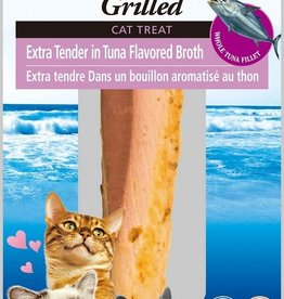 INABA FOODS U.S.A. Inaba Cat Treat Grilled Tuna Fillet in Tuna Broth Extra Tender 0.9 oz