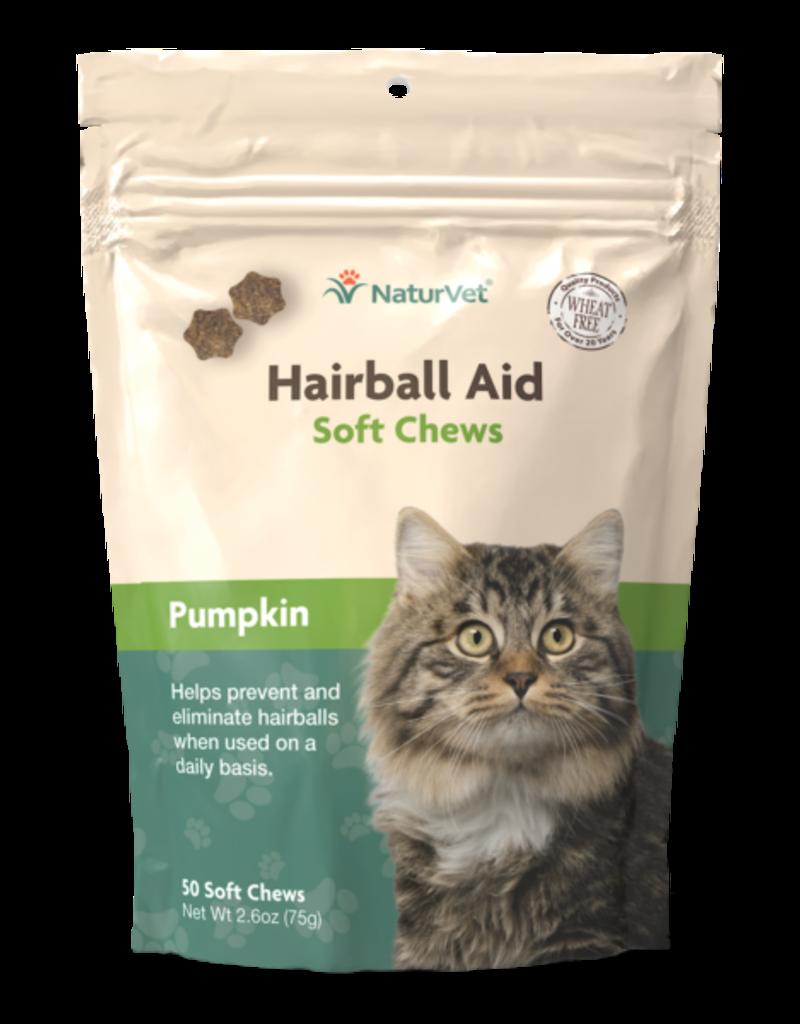 NaturVet NaturVet Cat Hairball Aid Soft Chew 50 ct