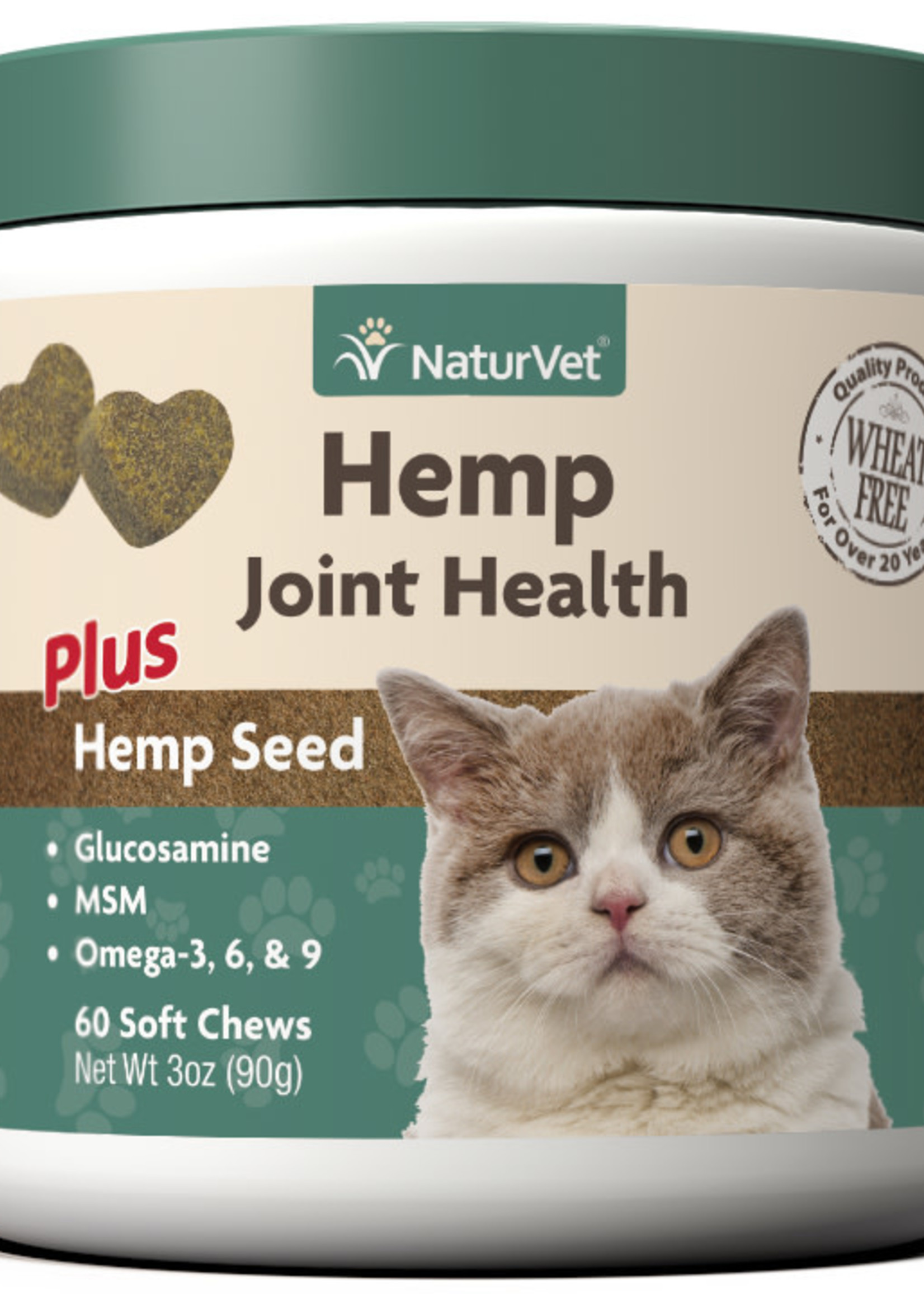 NaturVet NaturVet Cat Hemp Joint Health Soft Chew 60 ct