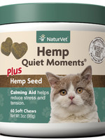 NaturVet NaturVet Cat Hemp Quiet Moment Soft Chew 60 ct
