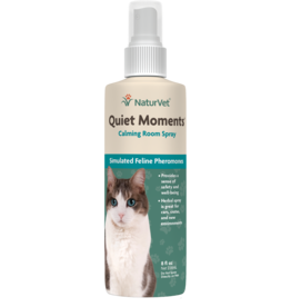NaturVet NaturVet Cat Quiet Moments Calming Room Spray 8 oz