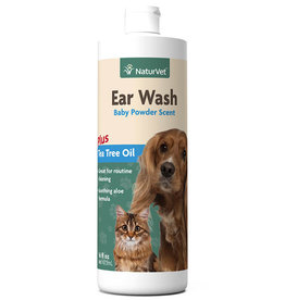 NaturVet NaturVet Cat/Dog Ear Wash Liquid 16 oz