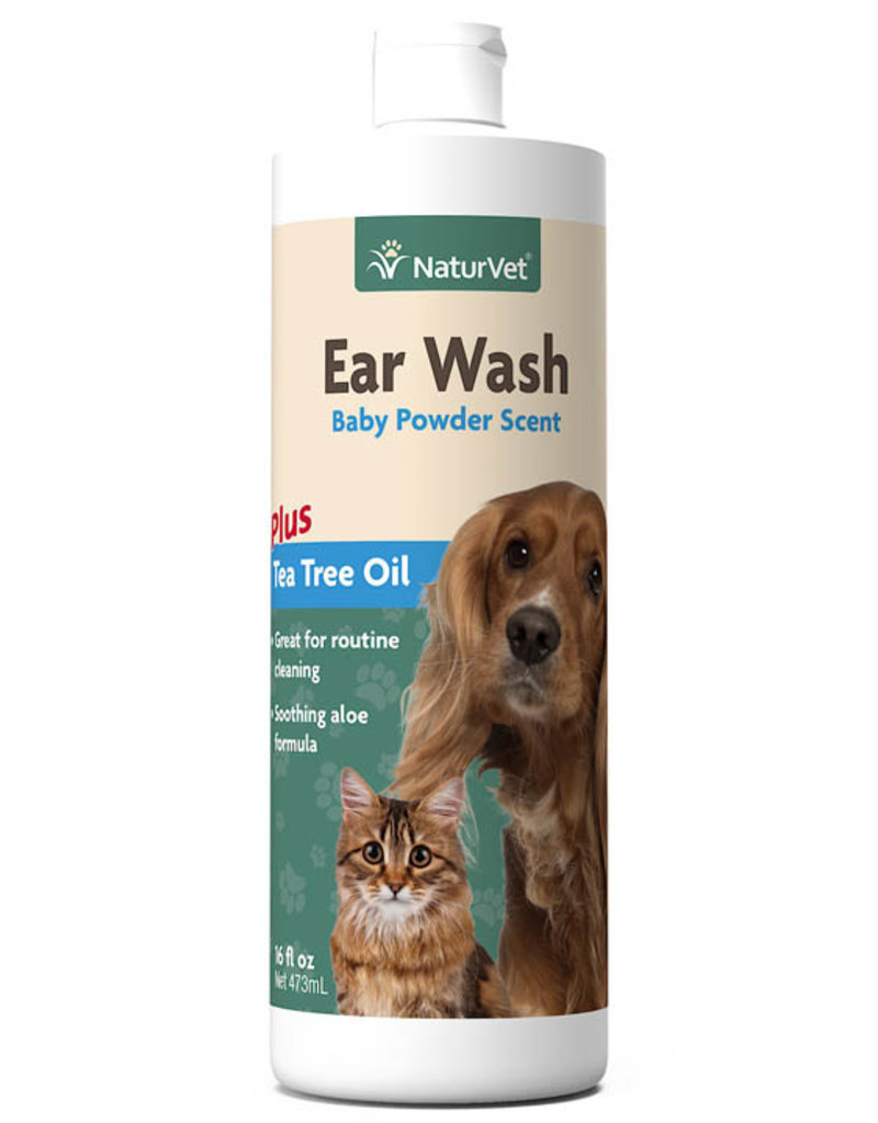 NaturVet NaturVet Cat/Dog Ear Wash Liquid 16 oz