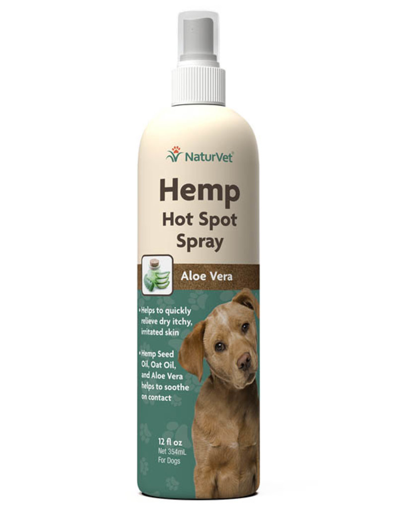 NaturVet NaturVet Dog Hemp Hot Spot Spray 12 oz
