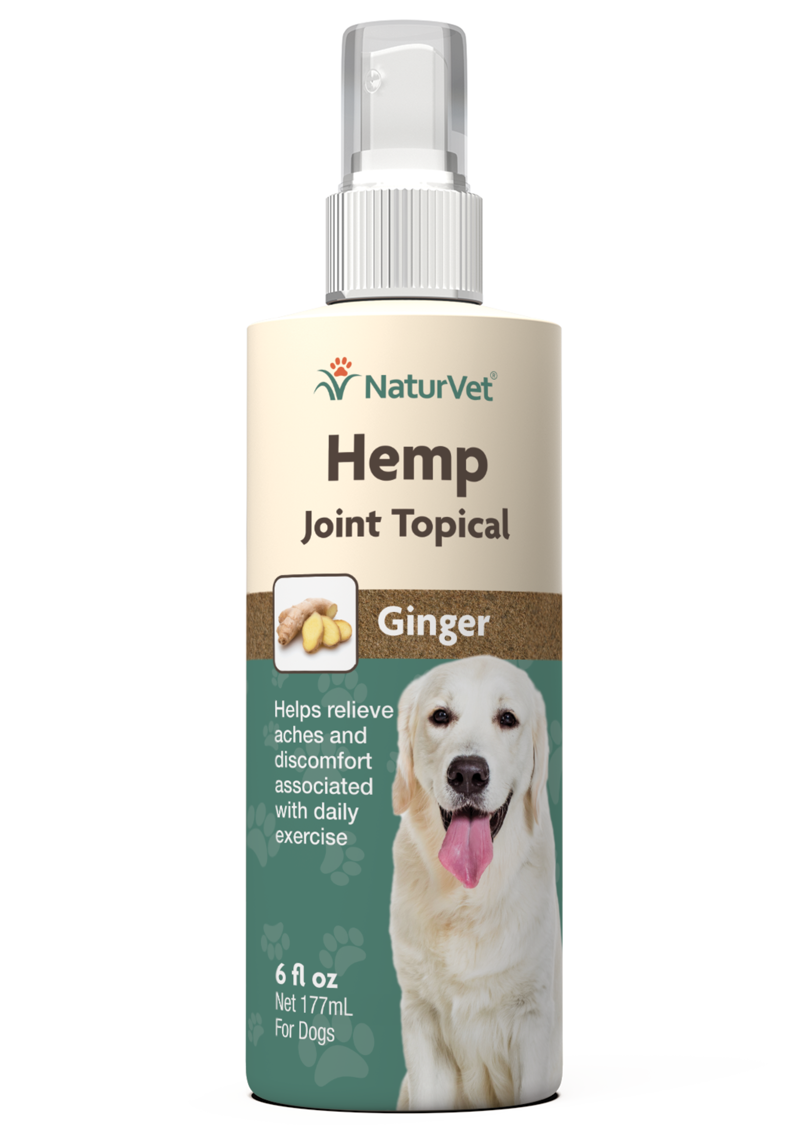 NaturVet NaturVet Dog Hemp Joint Topical Spray 6 oz