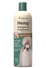 NaturVet NaturVet Dog Hemp Shampoo & Conditioner 16 oz