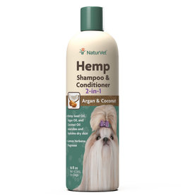 NaturVet NaturVet Dog Hemp Shampoo & Conditioner 16 oz