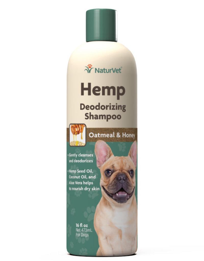 NaturVet NaturVet Dog Hemp Shampoo Deodorizing 16 oz