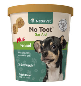 NaturVet NaturVet Dog No Toot Gas Aid Soft Chew 70 ct
