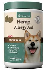 NaturVet NaturVet Dog Hemp Allergy Aid Soft Chew