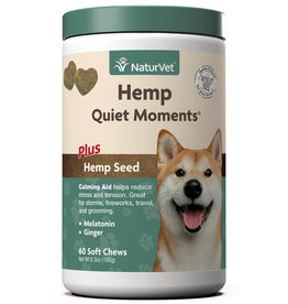 NaturVet NaturVet Dog Hemp Quiet Moments Soft Chew