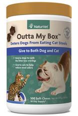NaturVet NaturVet Cat/Dog Outta My Box Soft Chew 500 ct