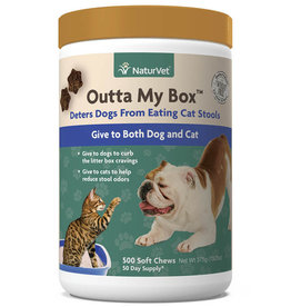 NaturVet NaturVet Cat/Dog Outta My Box Soft Chew 500 ct