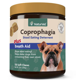 NaturVet NaturVet Dog Coprophagia Stool Eating Deterrent Soft Chew