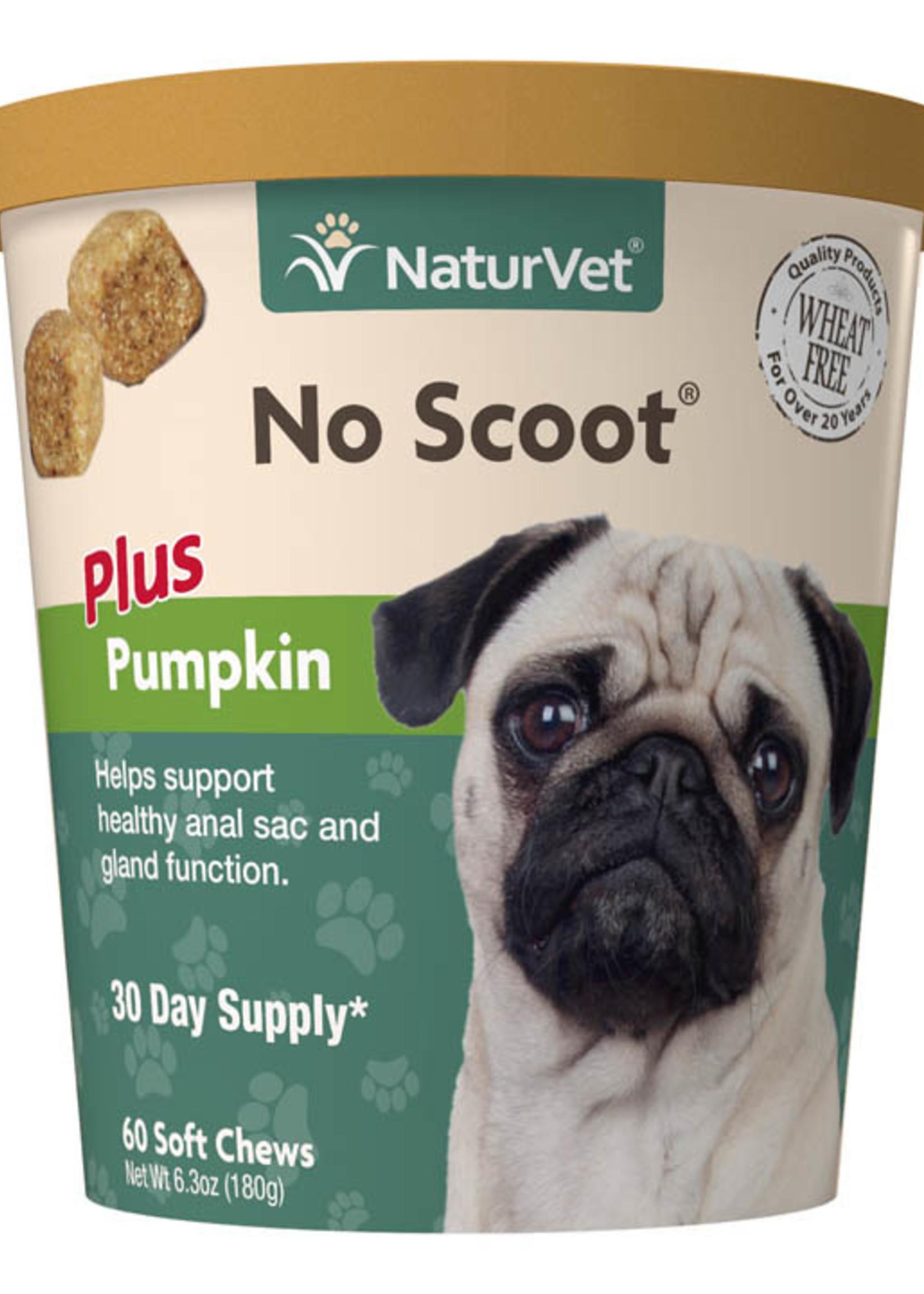 NaturVet NaturVet Dog No Scoot 60 Soft Chews