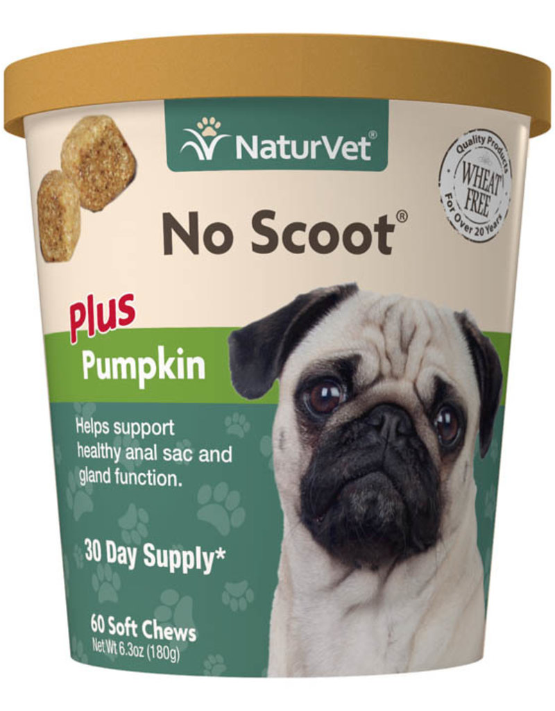NaturVet NaturVet Dog No Scoot 60 Soft Chews