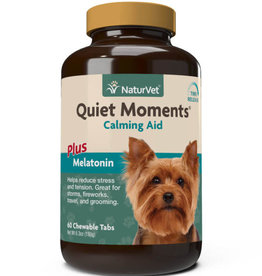 NaturVet NaturVet Dog Quiet Moments Calming Aid Chewable Tablet