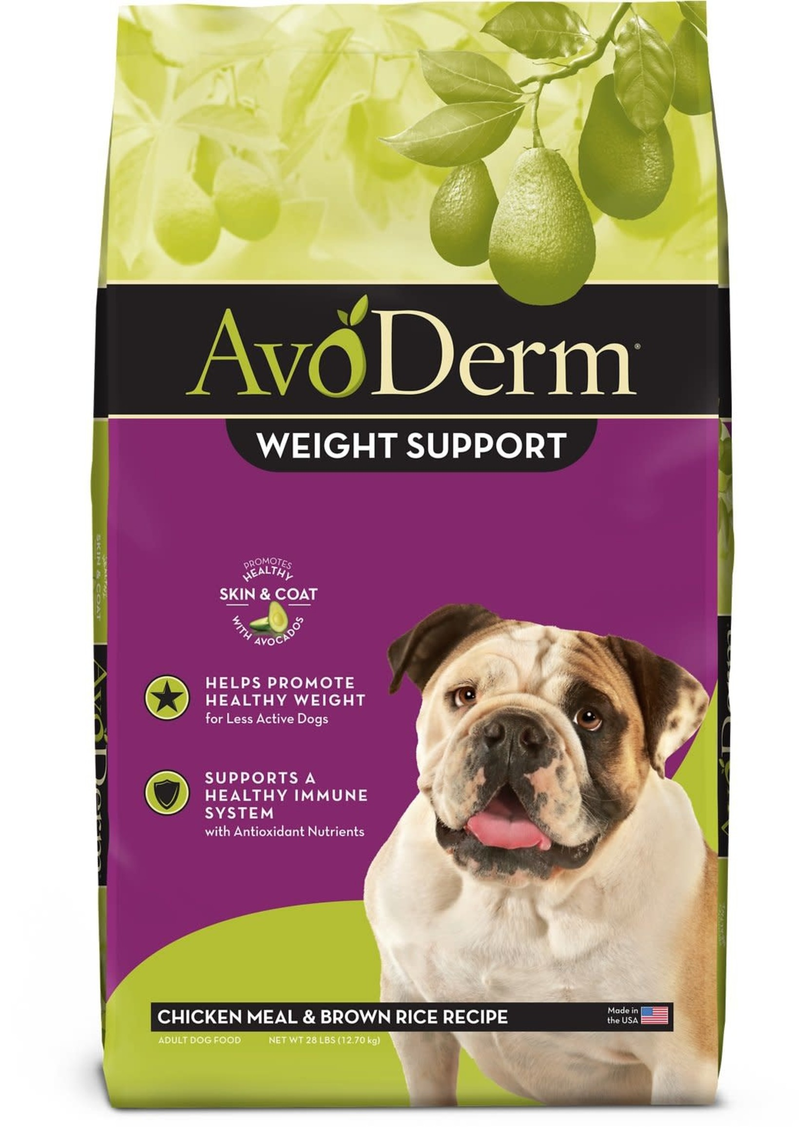 AvoDerm by Breeder's Choice AvoDerm Dog Dry Chicken and Rice Weight Support