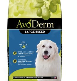 AvoDerm by Breeder's Choice AvoDerm Dog Dry Chicken and Rice Large Breed