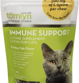 Tomlyn/Vetoquinol Products Tomlyn Cat Immune Support L-Lysine Chews 30 ct