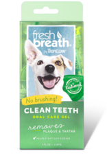 Tropiclean Manufacturing TropiClean Dog Fresh Breath Teeth Gel Kit 4 oz