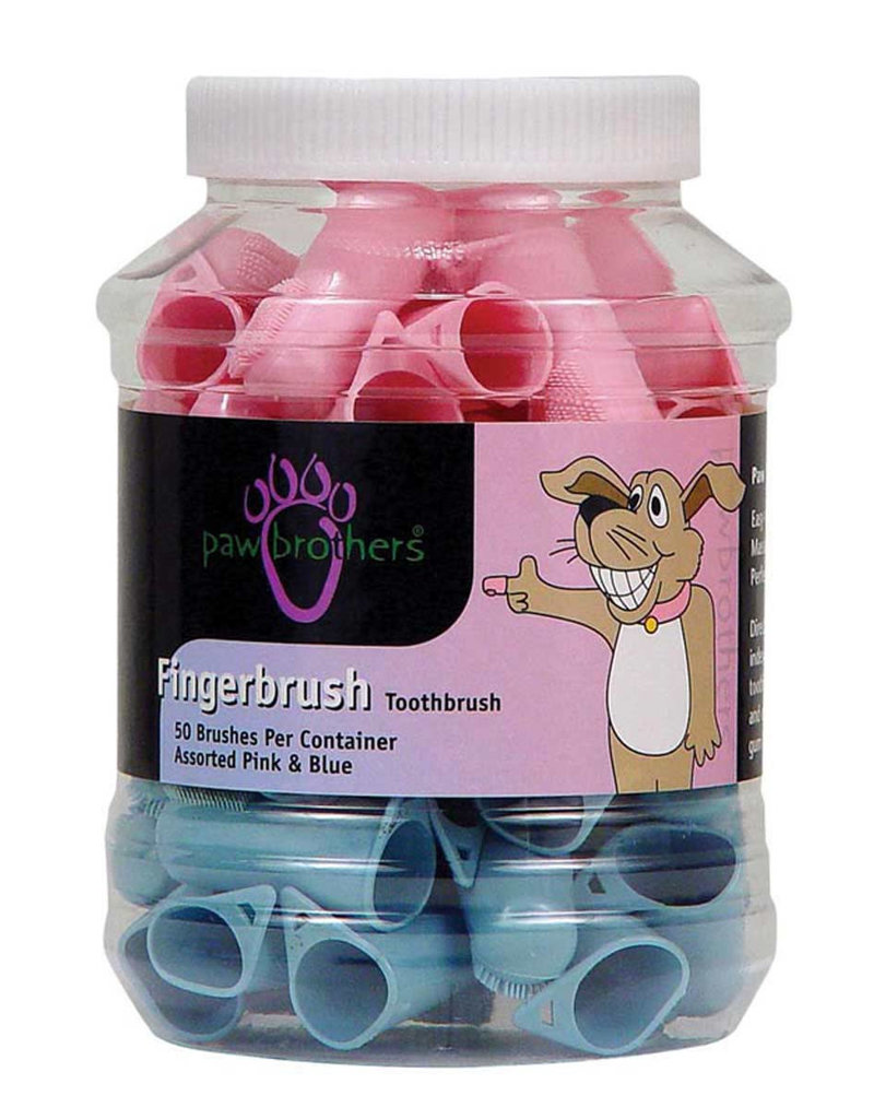 Paw Brothers Paw Brothers Toothbrush Finger Brush