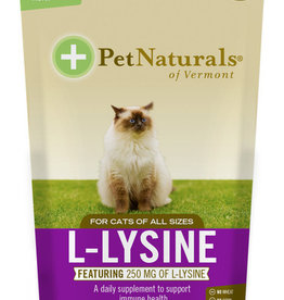 PET NATURALS OF VERMONT Pet Naturals Cat L-Lysine Chew 60 ct