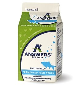 Answers Pet Nutrition Answers Cat/Dog Fermented Fish Stock 16 oz