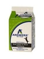 Answers Answers Cat/Dog Raw Fermented Goats Milk