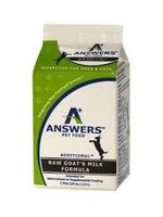 Answers Pet Nutrition Answers Cat/Dog Raw Fermented Goats Milk