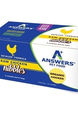 Answers Pet Nutrition Answers Dog Frozen Raw Detailed Nibbles Pork 2.2 lbs