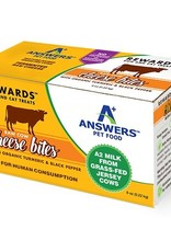 Answers Pet Nutrition Answers Dog Frozen Treat Cheese and Turmeric 8 oz