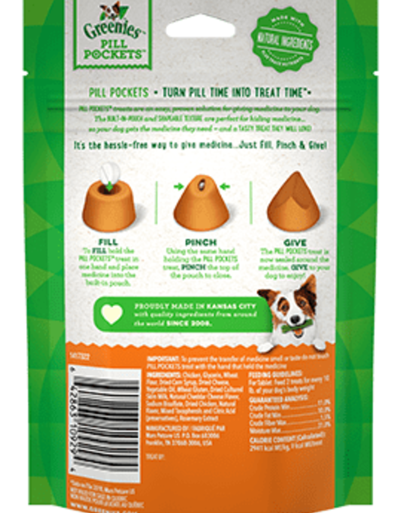 Greenies Greenies Dog Pill Pockets Cheese for Tablets 30 ct