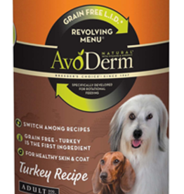 AvoDerm by Breeder's Choice AvoDerm Dog Can Revolving Turkey 12.5 oz