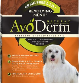 AvoDerm by Breeder's Choice AvoDerm Dog Dry Revolving Turkey
