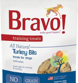 Bravo! Bravo! Dog Treat Turkey Meat Training Treat 4 oz
